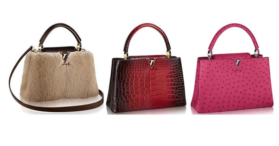три оригинальных женских сумки Louis Vuitton
