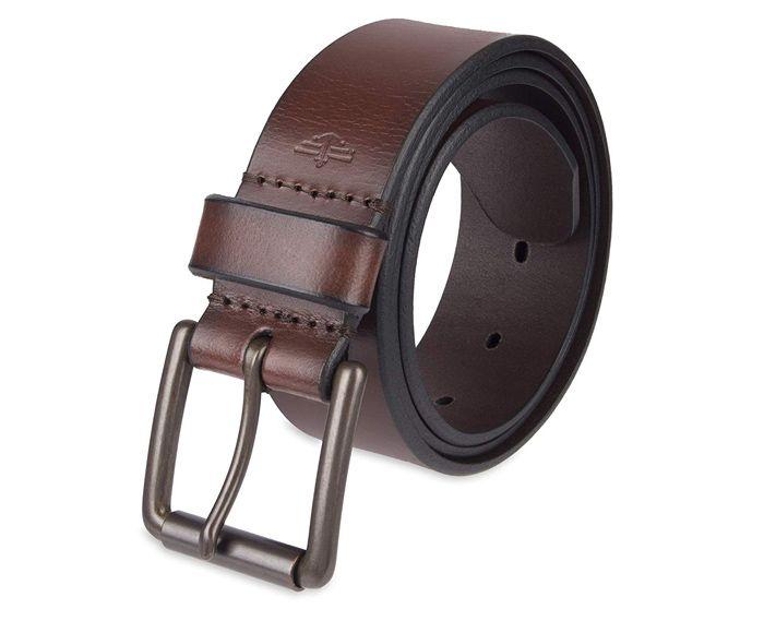 Cinturón de Cuero con Hebilla para Hombres Dockers