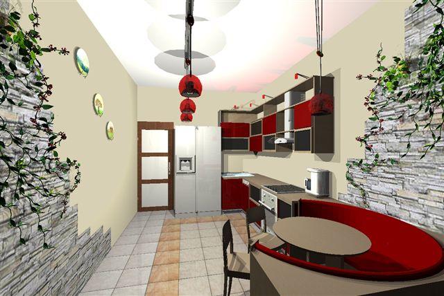 как выглядит кухня в китайском стиле