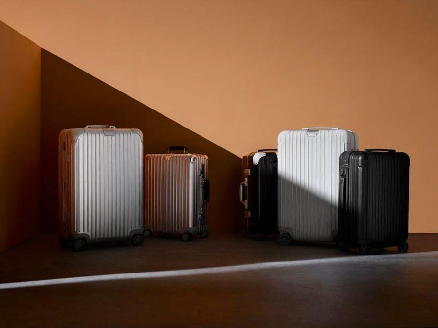 diferentes estilos de maletas Rimowa