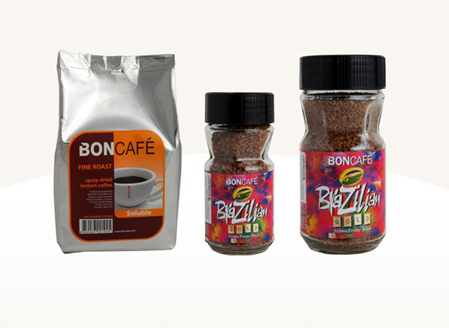 Brazilian Freeze-Dried Gold Instant Coffee