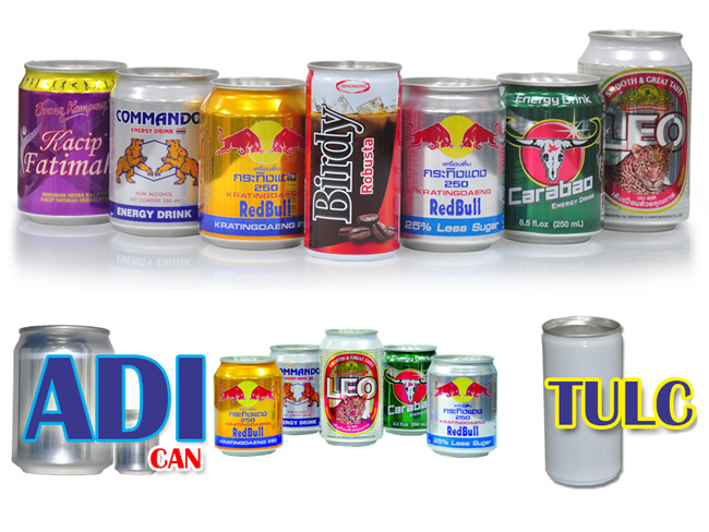 Manufactured Products: ADI and TULC Cans