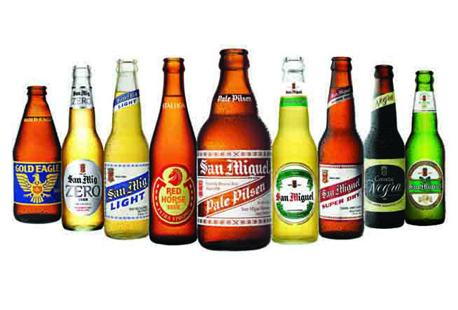 Main Beer Brands