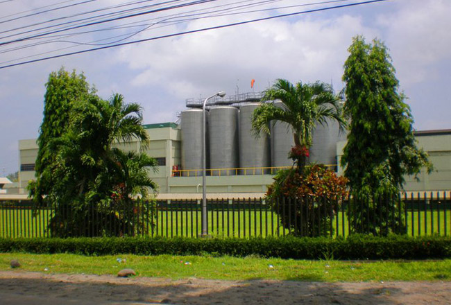 Bacolod Brewery Plant in Sta Fe, Brgy. Granada Bacolod City (Philippine Operation)