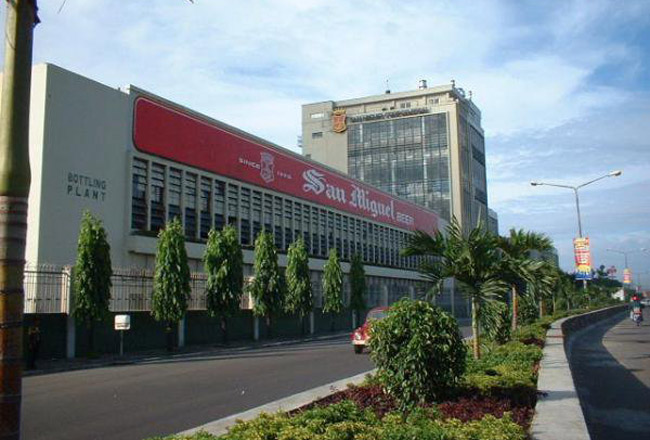 Mandaue Brewery Plant in Mandaue City (Philippine Operation)