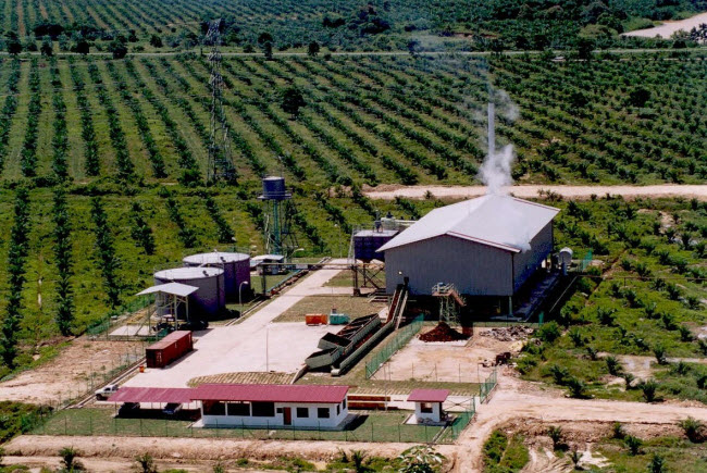 Melalap Oil Mill in Sabah
