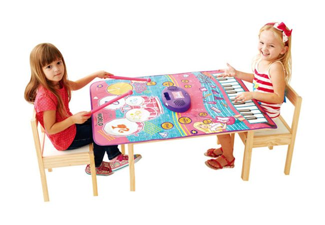 2 in 1 Music Jam Playmat, Barbie Musical Playmat