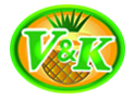V & K PINEAPPLE CANNING logo