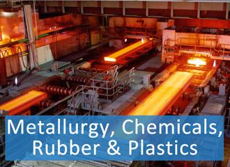 Metallurgy, Chemicals, Rubber & Plastics
